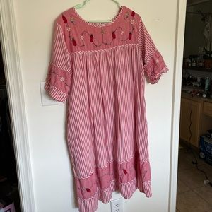 Vintage Bug print dress
